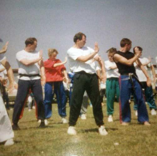 Karate Group Training